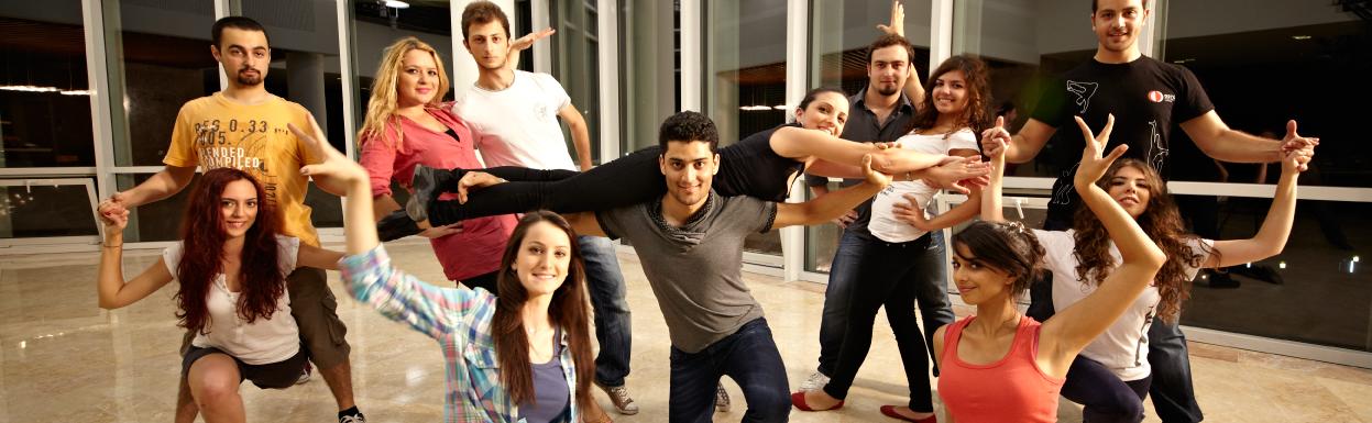 "CLUBS & SOCIETIES ""DANCE SOCIETY"""