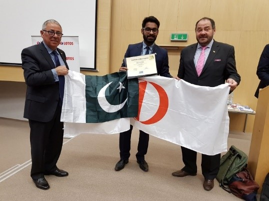 1st Prize won by our Petroleum and Natural Gas Student