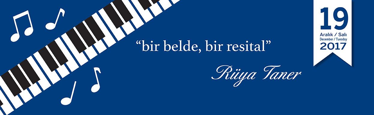 RÜYA TANER PIANO RECITAL