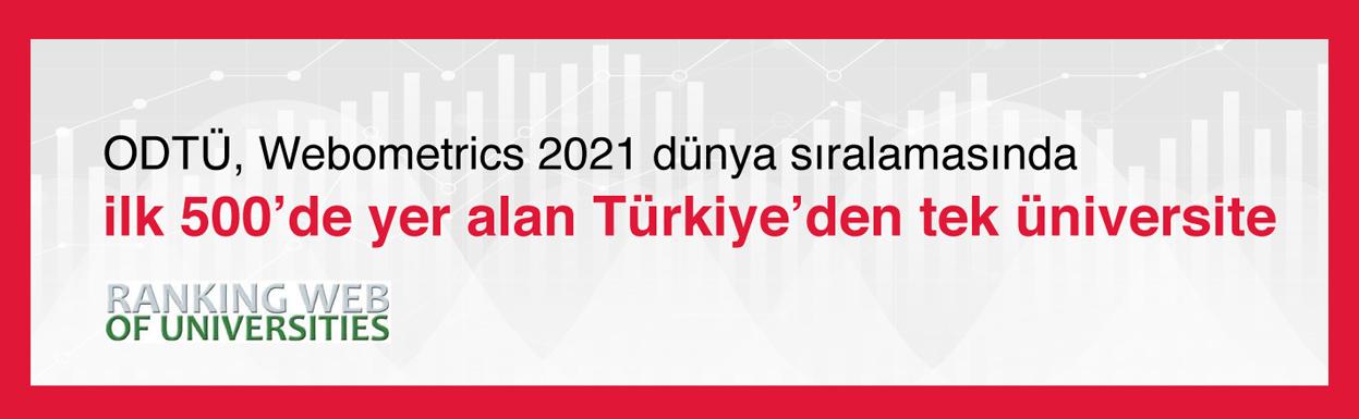 İLK 500'DE TÜRKİYE'DEN TEK: ODTÜ