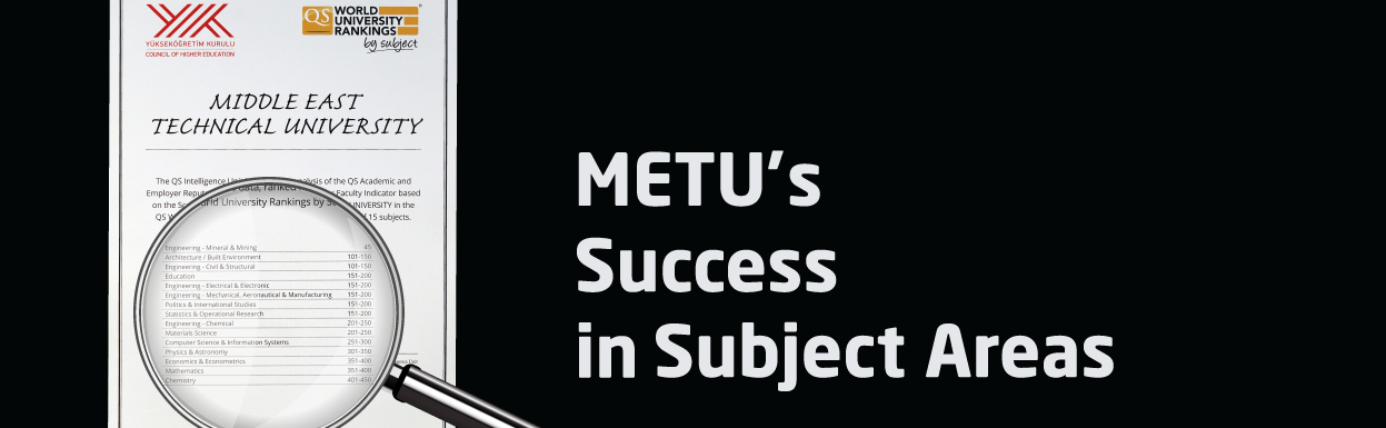 METU IS AMONG THE BEST UNIVERSITIES IN THE WORLD